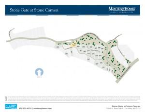 Monterey Stonegate Site Plan