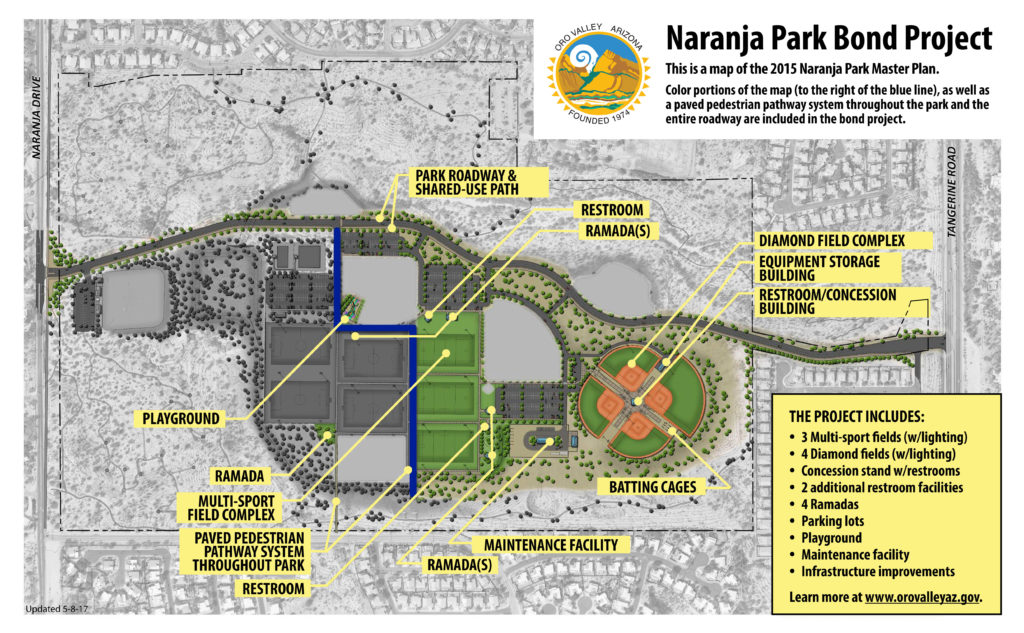 Oro Valley Will Vote on Naranja Park Expansion